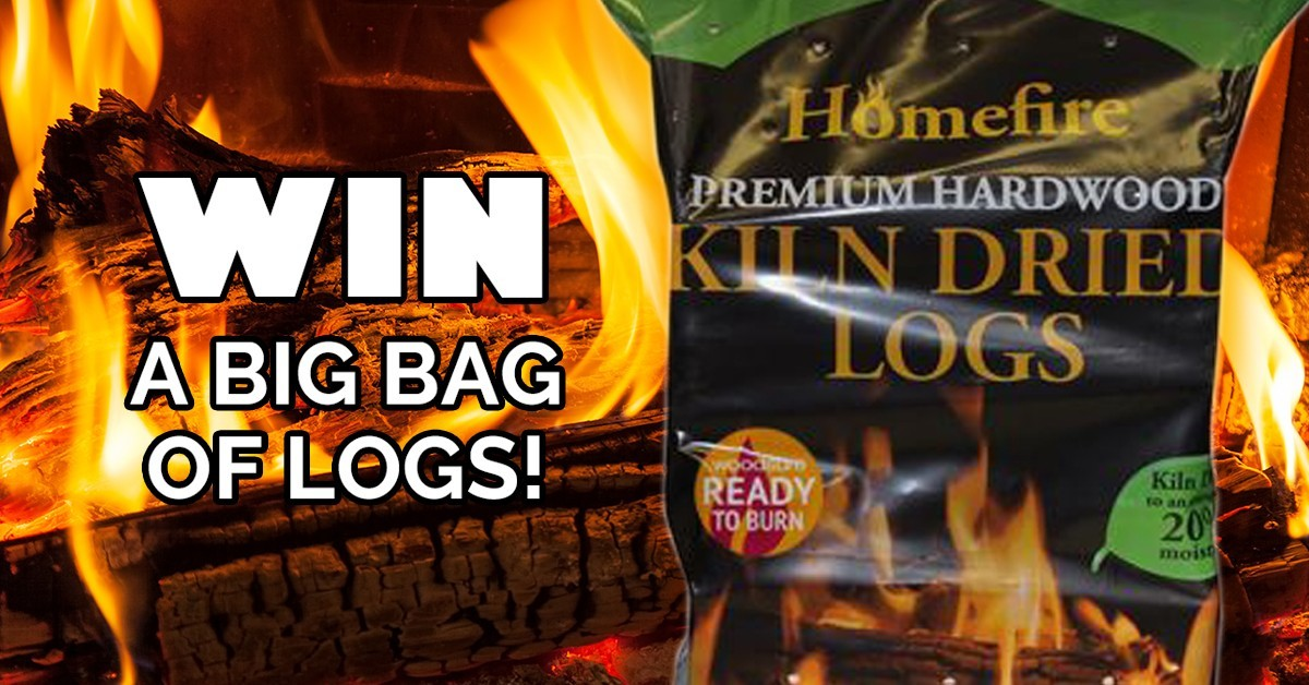 Win a big bag of logs from Nicholas Rowell Haulage