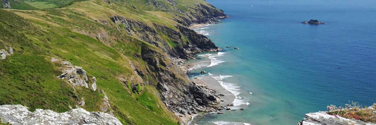 Bolberry Down South West Coast Path Malborough South Devon