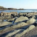 Ayrmer Cove Beach Rocks in South Devon