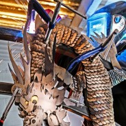 Tom May - Tom Welding metal to Moongate dragon