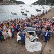 Wedding Arial Shot