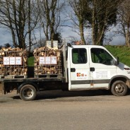 Woodleigh Wood - Firewood and Log Suppliers Delivery vehicle
