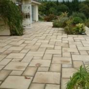 Superb new patio - Pavilion Construction near Totnes