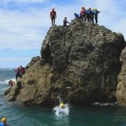 big jumps coasteering south devon stag party adventure south