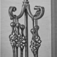 om May - Custom Spiral Tongs and Holder
