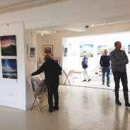 Large ground floor art gallery at Harbour House