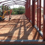 Groundworks to new industrial unit - Pavilion Construction