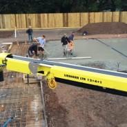 Re-inforced concrete foundation for new build - Pavilion Construction Ltd