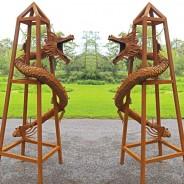 Tom May - Finished Dragon Obelisks