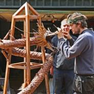 Tom May - Adding details to Dragon Obelisk
