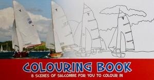 Salcombe Colouring book