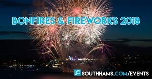 Bonfire Nights across the South Hams in 2018