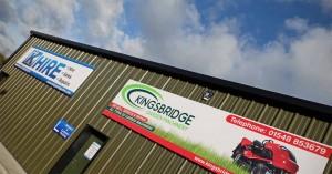Kingsbridge Hire Centre at Torr Trade Park near Kingsbridge