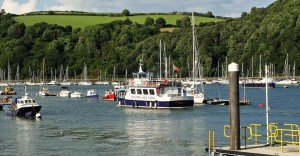 A trip on the Salcombe or Dartmouth Ferry in the Summer in South Devon